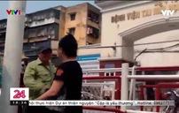 Cò mồi lừa đảo trước cổng Bệnh viện Tai mũi họng Trung ương