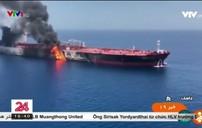 """Mỹ công bố video Iran """"phi tang bằng chứng"""" trên tàu dầu bị tấn công"""