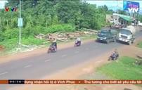 Xe bồn vượt ẩu gây tai nạn