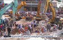 Vụ sập nhà cao tầng tại Campuchia: Số người thiệt mạng tăng lên 18
