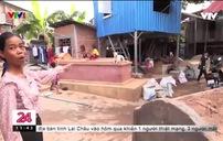 Cuộc sống chung đụng với người chết của dân nghèo Campuchia