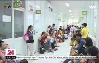 Thời tiết thất thường, số bệnh nhi nhập viện tăng cao tại TP.HCM