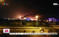Máy bay không người lái tấn công nhà máy sản xuất dầu mỏ Aramco