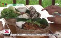 Khu ẩm thực trên đồng lúa: - Điểm đến mới thu hút nguời dân thành thị Lào