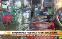 Chợ cá lớn nhất thủ đô ngày cận Tết ông Công ông Táo