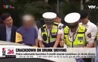 Tai nạn giao thông tại Hàn Quốc do lái xe say xỉn giảm