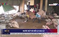 Quảng Bình: Nhiều tuyến đường vẫn sạt lở, nhà cửa hư hại do lũ