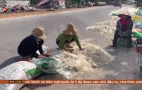 """Thiệt hại lớn của người dân tại """"vựa lúa"""" miền Trung sau lũ"""