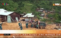 Khắc phục sạt lở ở miền núi Quảng Nam gặp nhiều khó khăn