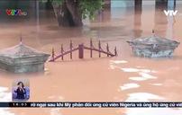 Ngập lụt kéo dài ở vùng trũng Quảng Trị
