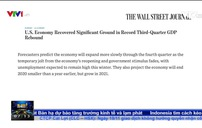 Kinh tế Mỹ phục hồi ngoạn mục trong quý III