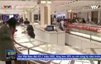Doanh số bán vàng miếng tại Trung Quốc tăng mạnh