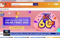 Khởi động ngày mua sắm trực tuyến Online Friday 2020