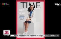 """Bé gái 15 tuổi giành danh hiệu """"Trẻ em của năm"""" trên tạp chí Time"""