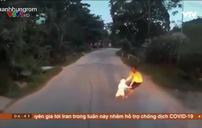 Mất an toàn khi trẻ nhỏ tự sang đường