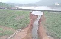 Di dời nhiều hộ dân khi đập Đầm Thìn bị vỡ