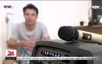 Tranh luận xung quanh đề xuất cấm hát karaoke bằng loa kẹo kéo