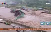 Trung Quốc khuyến cáo người dân ở nhà tránh mưa lũ