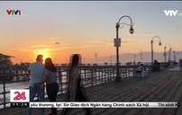 Cầu cảng Santa Monica, Mỹ mở cửa đón khách du lịch trở lại