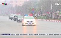 Ngày đầu phân luồng phục vụ Đại hội Đảng XIII: Áp lực giao thông tăng đáng kể