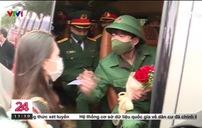 Tân binh Thủ đô Hà Nội lên đường nhập ngũ