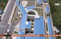 Trung tâm y tế tiền tỷ chưa sử dụng đã bị lún nứt