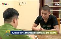 Tuyên Quang: Xóa sổ nhóm đối tượng chuyên trộm cắp xe máy