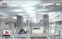 Cận cảnh ga ngầm ba Son của tuyến metro số 1 TP Hồ Chí Minh