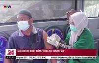 Mô hình xe bus tiêm chủng tại Indonesia