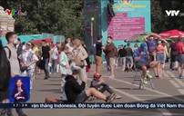 Hàng nghìn người hâm mộ đổ về Saint Petersburg trong giải bóng đá Euro 2020