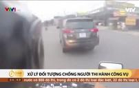 Sử dụng ma túy đá điều khiển ô tô lạng lách chống đối CSGT