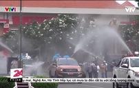 TP Hồ Chí Minh phun 6 tấn hóa chất khử khuẩn trên toàn địa bàn