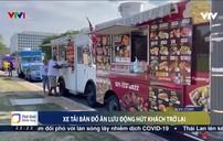 Xe tải bán đồ ăn lưu động ở Mỹ hút khách