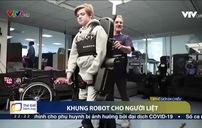 Khung robot hỗ trợ người bị liệt