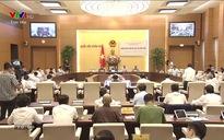 Phiên chất vấn và trả lời chất vấn tại Phiên họp thứ 36 của Ủy ban Thường vụ Quốc hội (10h00) - 15/8/2019