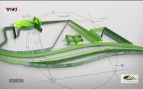Nét xanh trong kiến trúc nay: Giải pháp sắp xếp hình khối và không gian