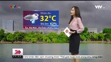 Bản tin thời tiết 11h30 - 15/8/2018