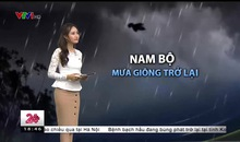 Bản tin thời tiết 18h45 - 17/10/2018
