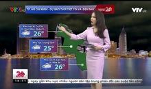 Bản tin thời tiết 18h45 - 12/11/2018