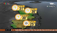 Bản tin thời tiết 5h30 - 13/11/2018