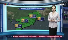 Bản tin thời tiết 12h30 - 16/11/2018