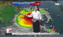 Bản tin thời tiết 11h30 - 17/11/2018