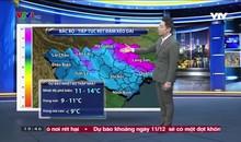 Bản tin thời tiết 19h45 - 09/12/2018