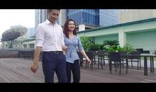 Thời tiết vui: MC Dương Huyền và MC Thanh Tùng