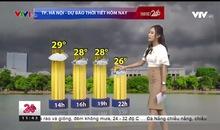 Bản tin thời tiết 11h30 - 18/9/2018