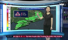 Bản tin thời tiết 12h30 - 21/9/2018