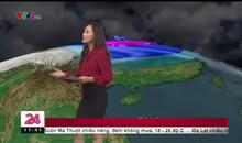 Bản tin thời tiết 11h30 - 15/01/2019