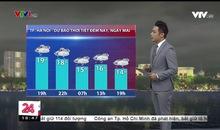 Bản tin thời tiết 18h45 - 15/01/2019