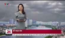 Bản tin thời tiết 18h45 - 17/01/2019