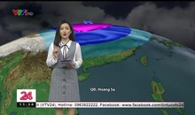 Bản tin thời tiết 11h30 - 20/01/2019